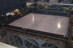 Cast acrylic sheet for hot tub