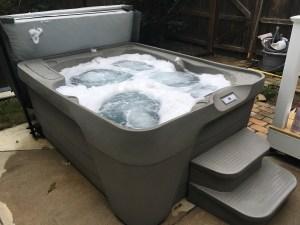 Rotationally Molded Hot Tub