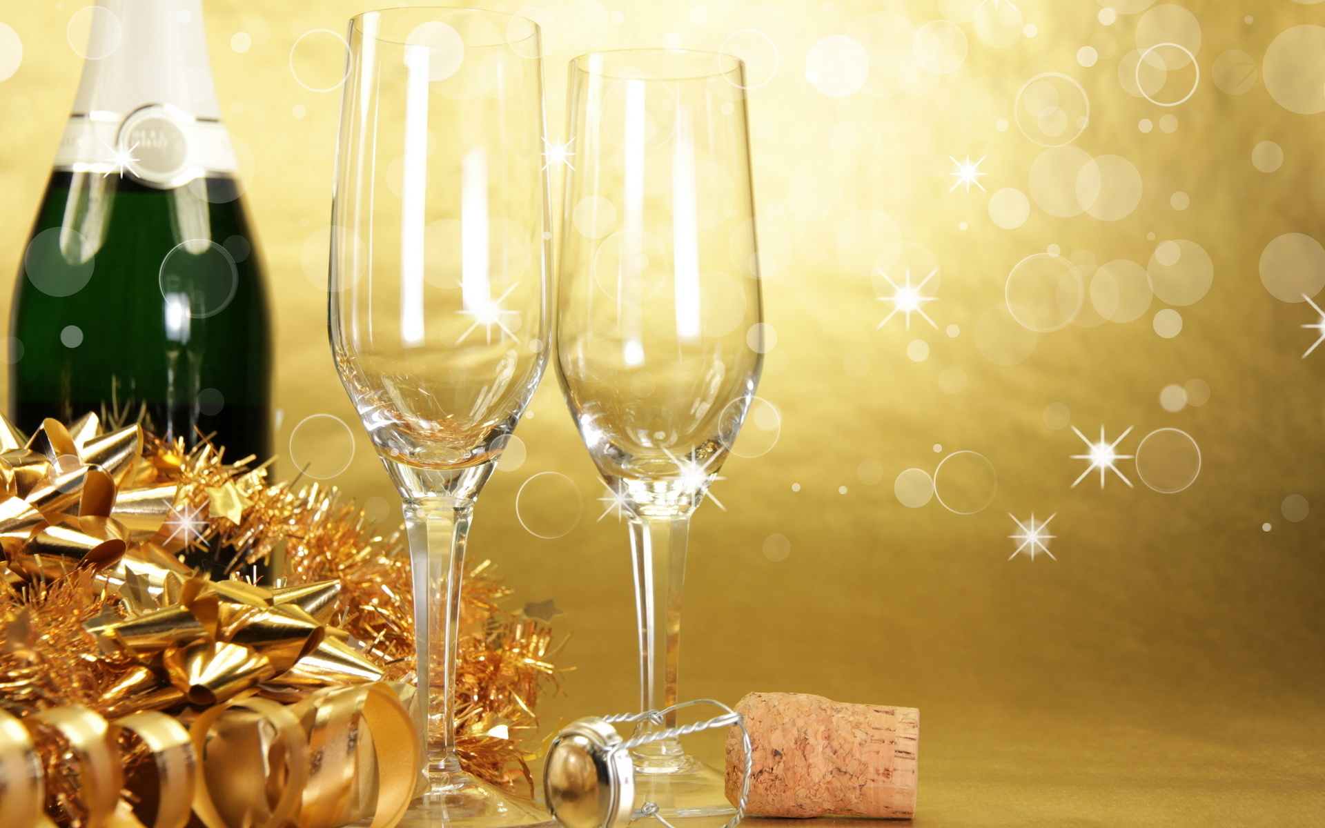champagne new year backgrounds