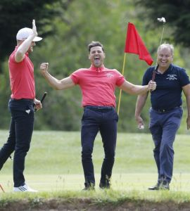Mark Wright spends last day as a single man playing golf – with wife-to-be's name emblazoned on his back – 3am & Mirror Online