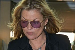 Kate Moss escorted off EasyJet plane at Luton after disturbance on flight from Turkey