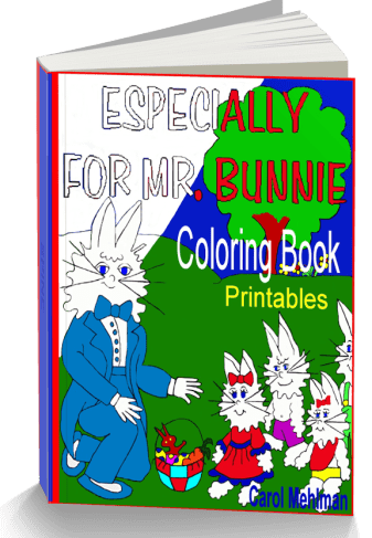 Printable Coloring Pages with Bunnies