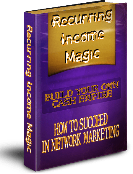 Recurring Income Magic