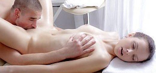 Innocent Teen Nastya Gets A Hot Massage