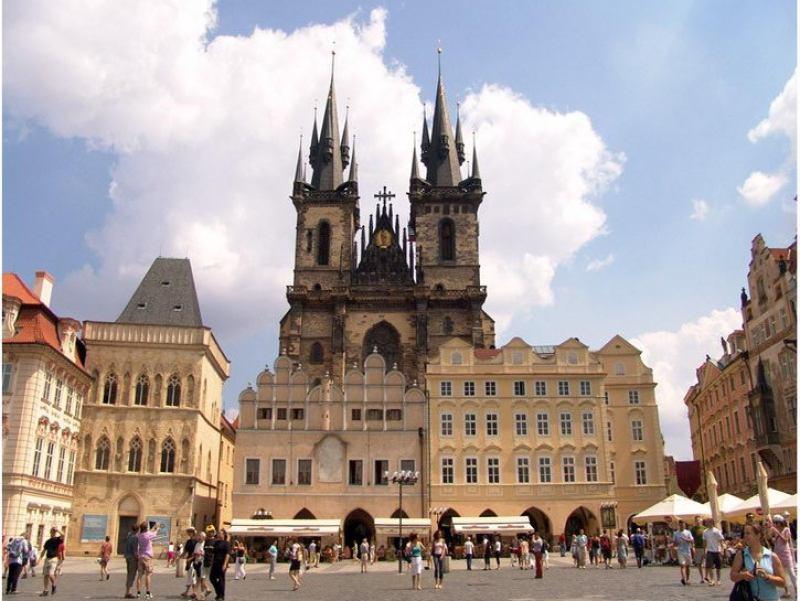 Отдых в Чехии в августе 1