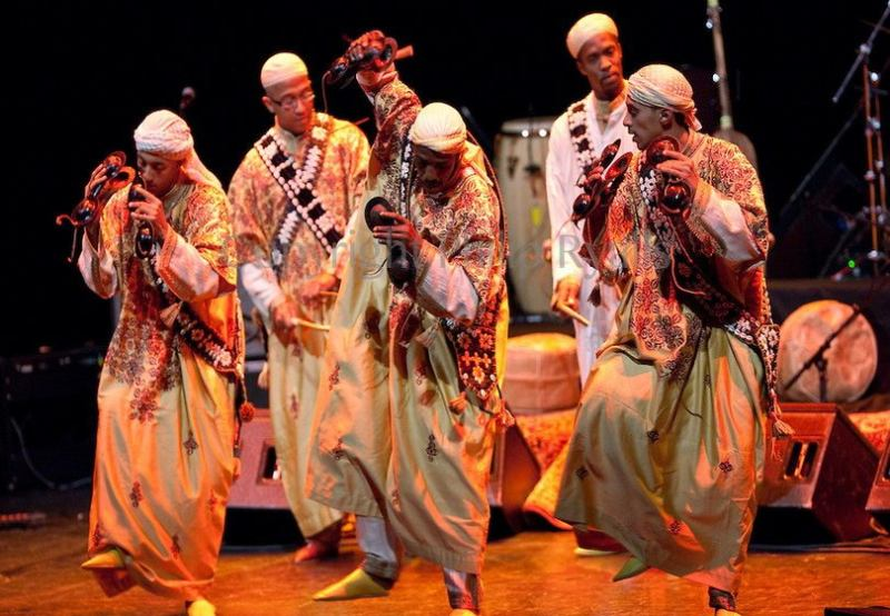 Gnawa Home Songs - Tamesloht Blues