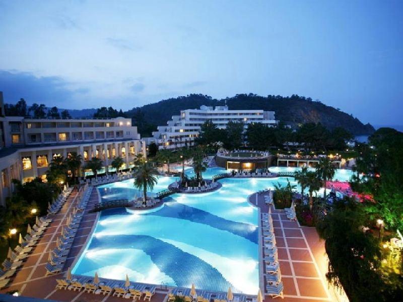 Отдых в Турции в сентябре отель вечер