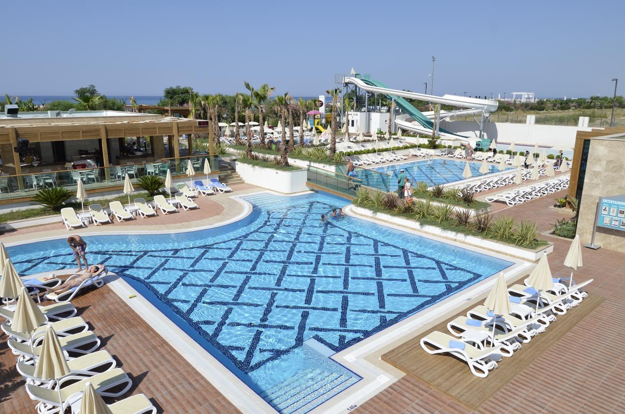 Фото нового отеля Турции, Trendy Verbena Beach 5*, аквазона, бассейн