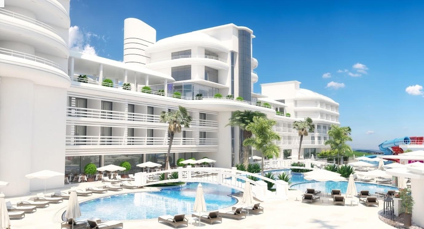 Фото нового отеля в Алании Laguna Beach Alya Resort & Spa 5*, Турция