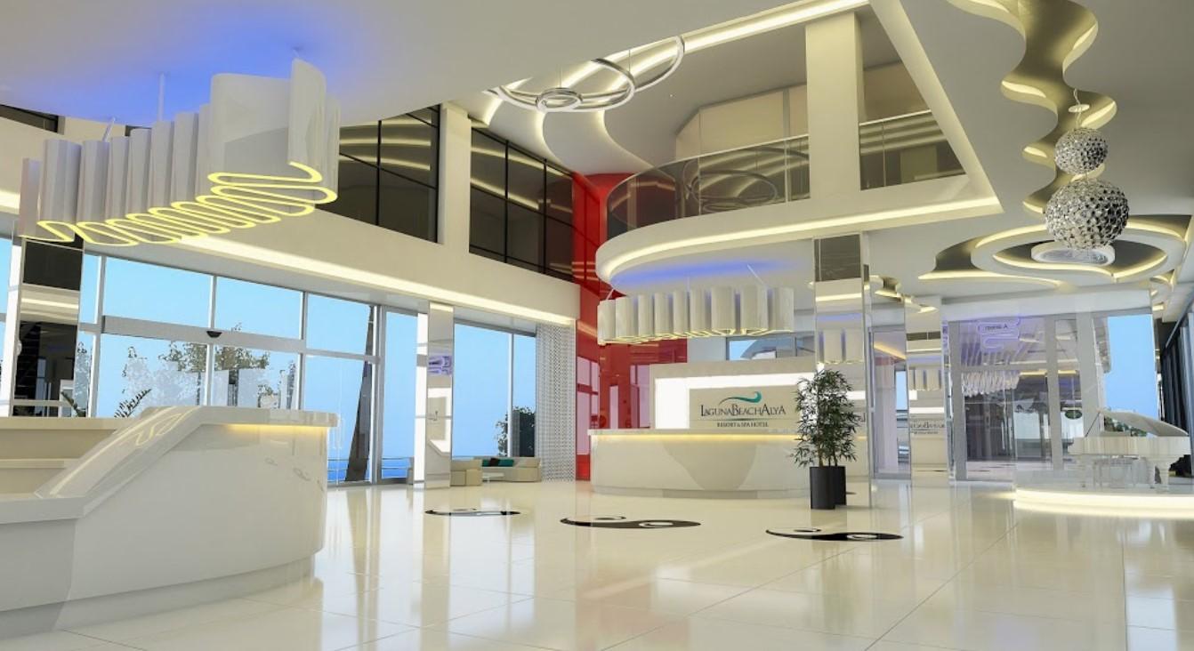 Фото нового отеля Laguna Beach Alya Resort & Spa 5* , Алания, Турция, ресепшн