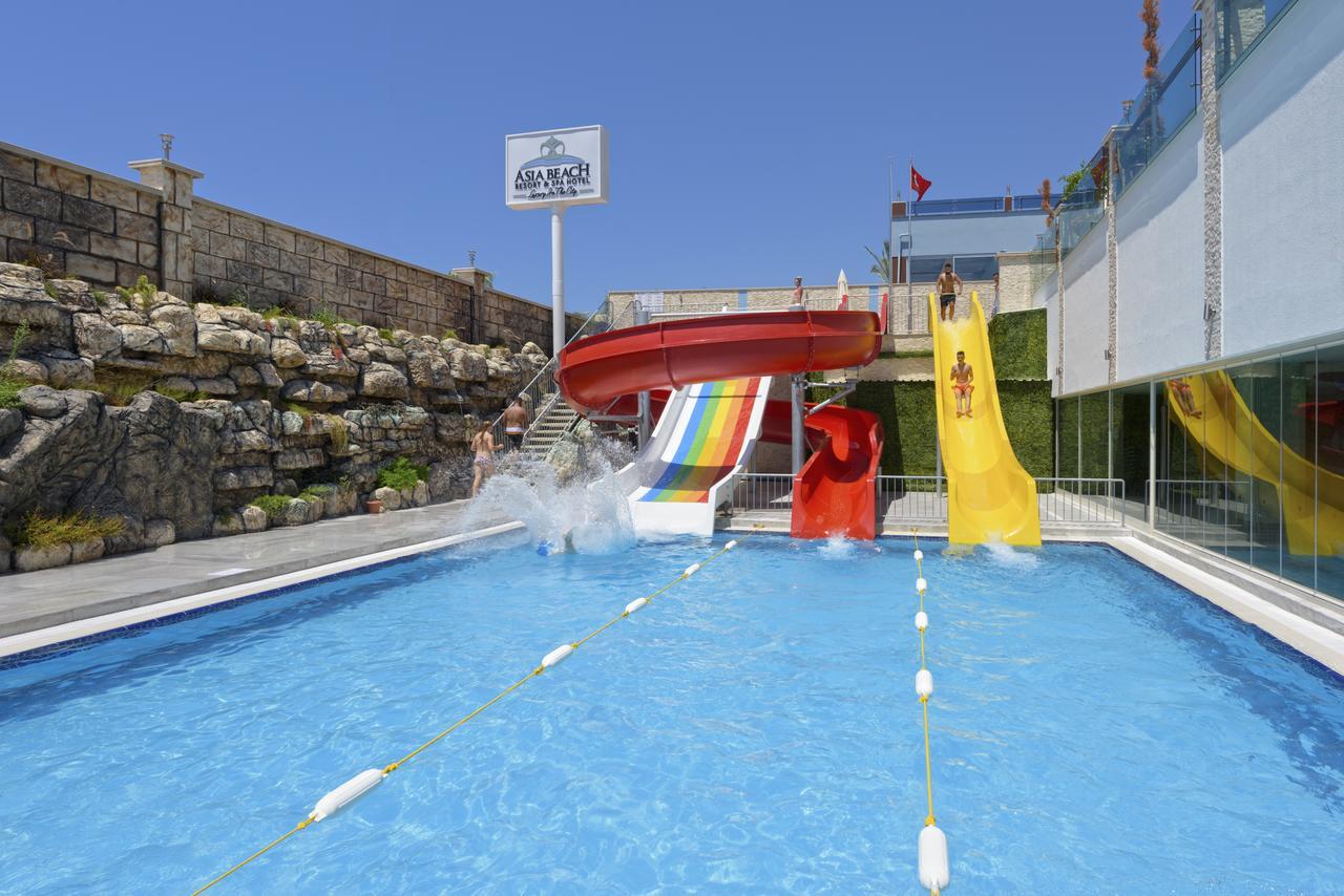 Фото нового отеля в Турции Asia Beach Resort & Spa Hotel 5* Алания, аквазона