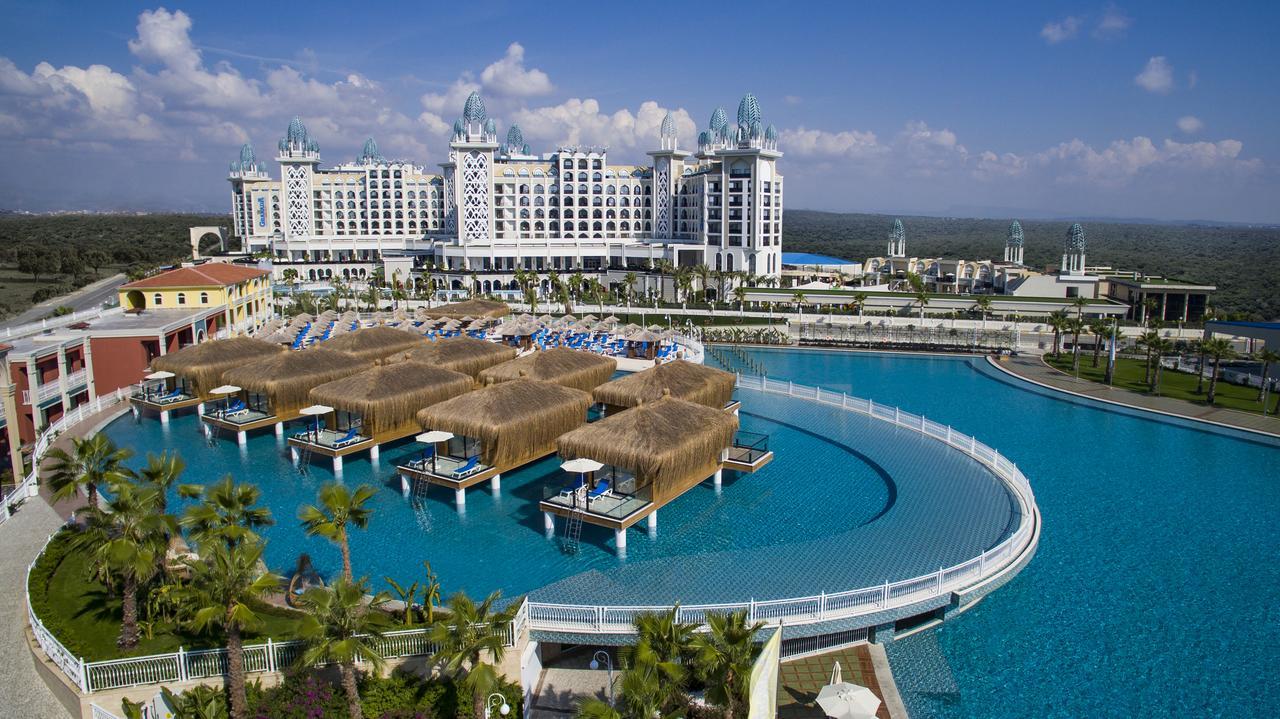 Фото нового отеля Турции Granada Luxury Belek аквазона