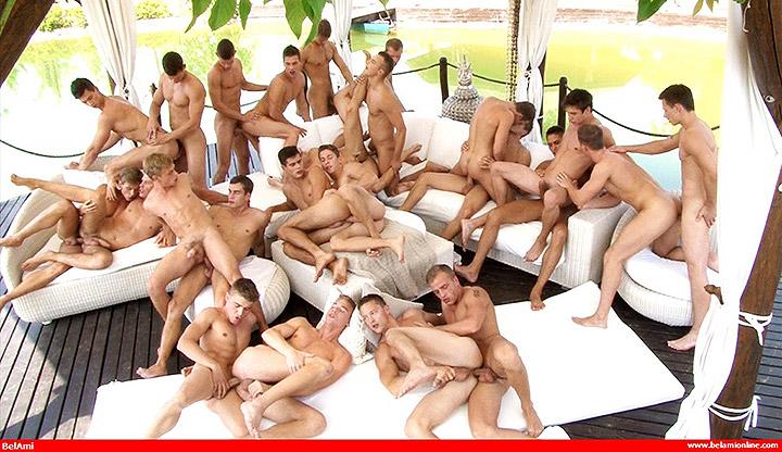 Bel Ami 24 Boy Bareback Orgy