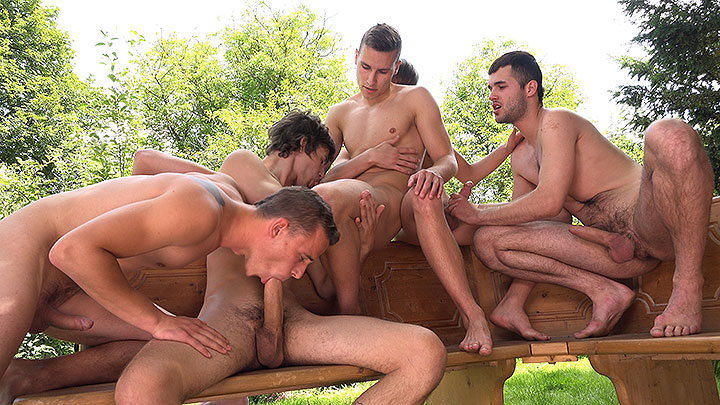 Raw Wank Party 5 – Part 1
