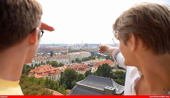 BelamiOnline Featuring Blake Mitchell: An American In Prague