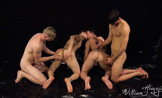 WilliamHiggins: Wank Party #135 - Part 1