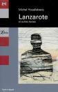 Une des couvertures de Lanzarote et autres textes