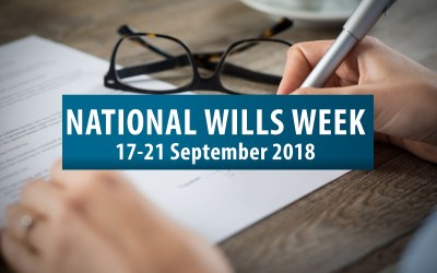 National Wills Week 2018