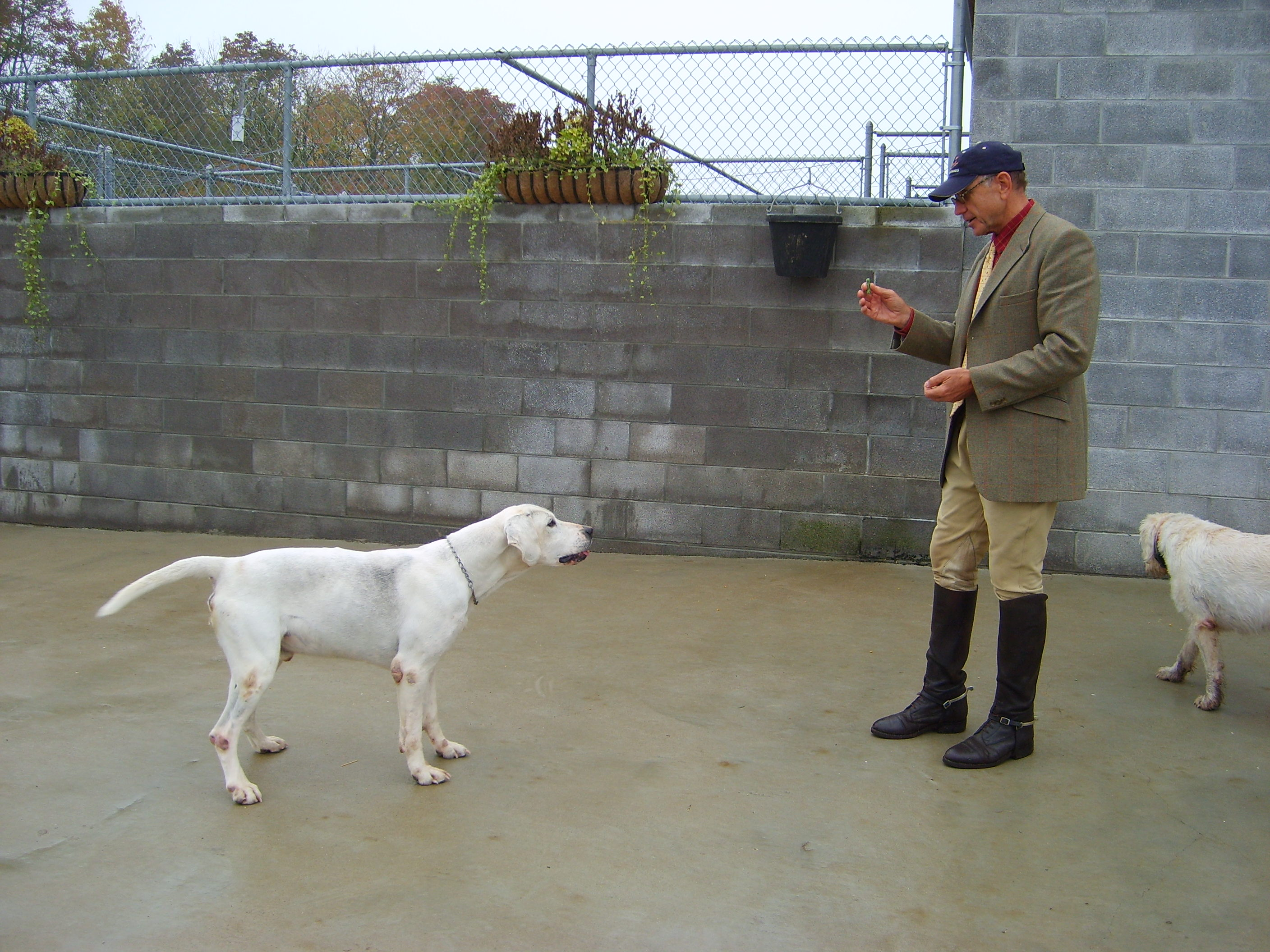 Grundy, shown here in October 2006 with joint-Master Jerry Miller