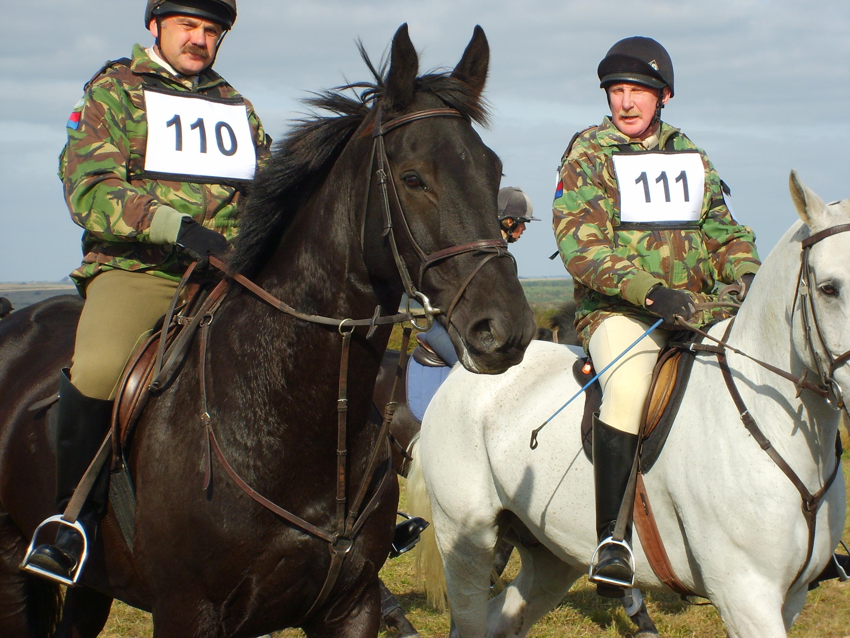 RA Officers at the RA hunter trials 2009