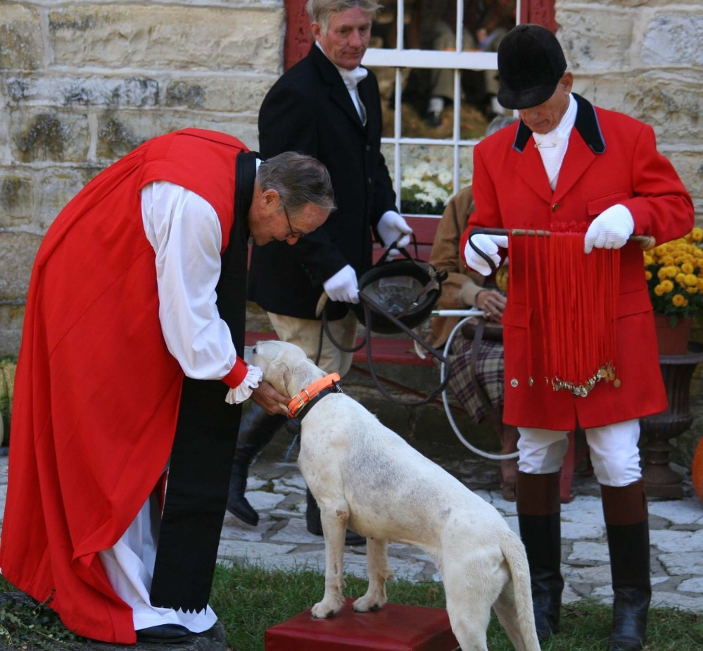 St. Hubert and the Blessing of the Hounds (1/5)
