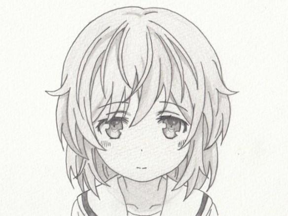 「はいふり」立石志摩の模写絵