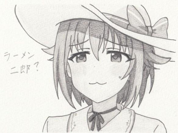 「アイマス」輿水幸子の模写絵