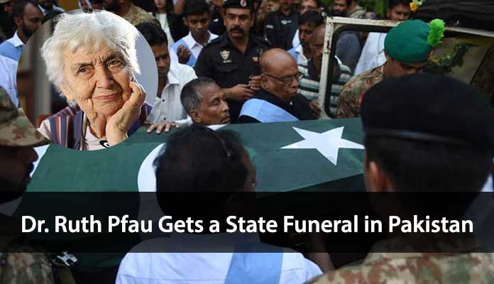 Dr Ruth Pfau Gets a State Funeral in Pakistan