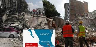 Powerful Mexico Earthquake