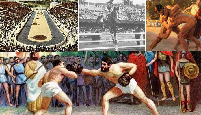 ancient Olympic events