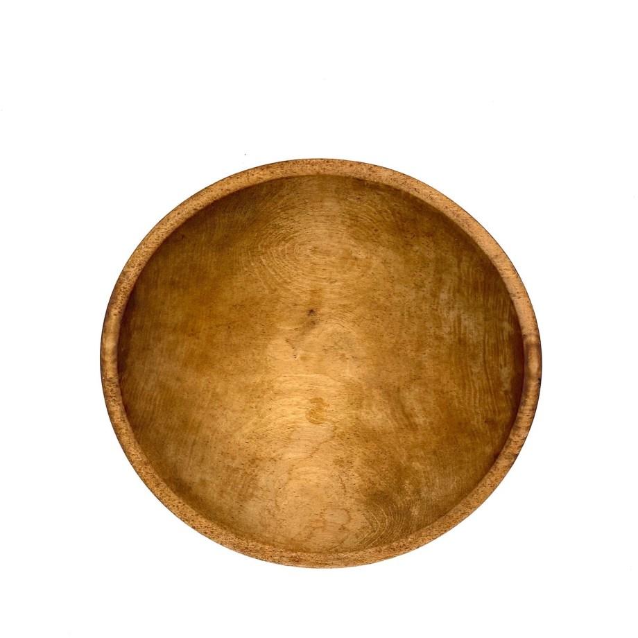 19111302 – 19th Century Wood Bowl – 3