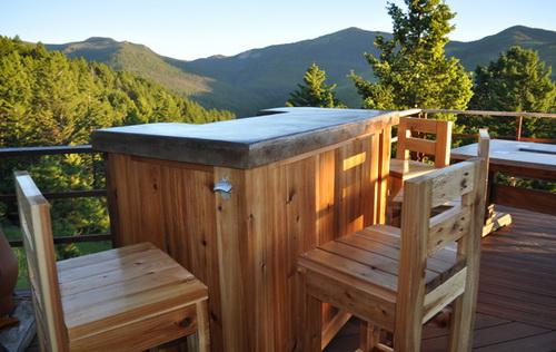 Portable outdoor bar designs makes a perfect addition ... on Portable Backyard Bar id=77646