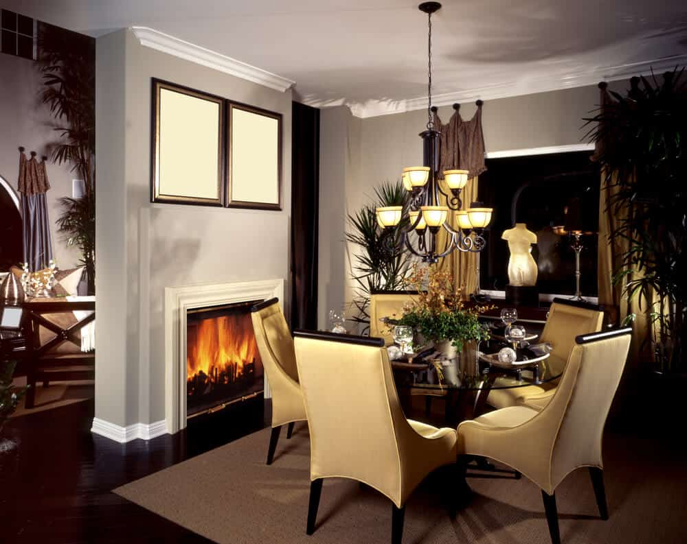 Small Family Room Fireplace Design Ideas