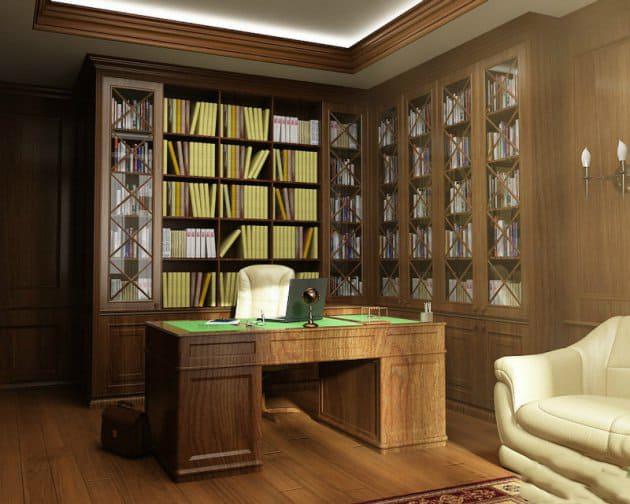 Office Decor Ideas Classic Office Design