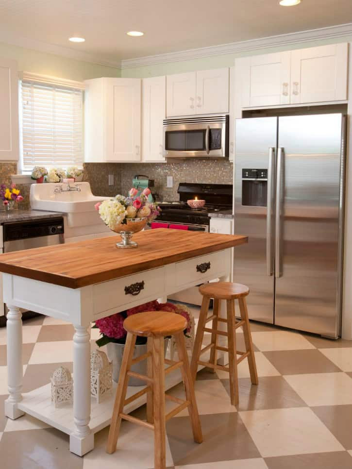 Small kitchen ideas: design and technical features on Tiny Kitchen Remodel Ideas  id=46800