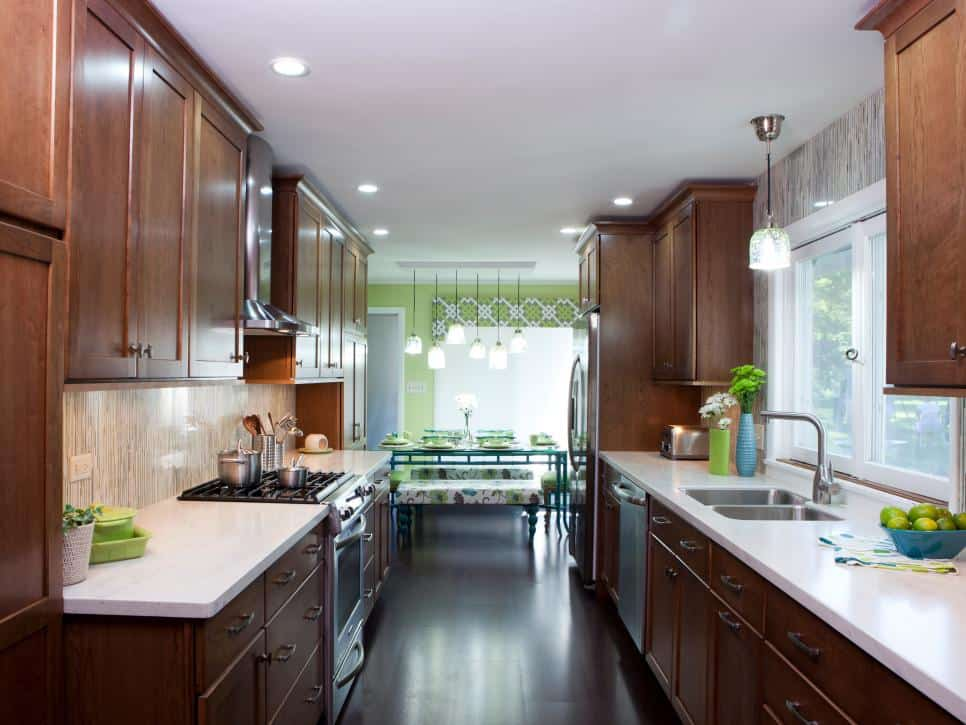Small kitchen ideas: design and technical features on Small Kitchen Remodeling Ideas  id=35528