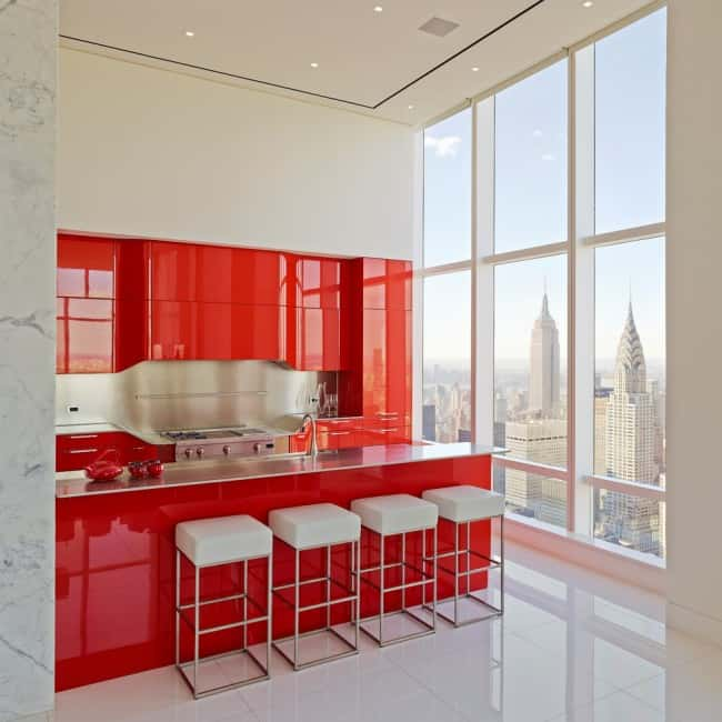 Kitchen Design Ideas Red Decor