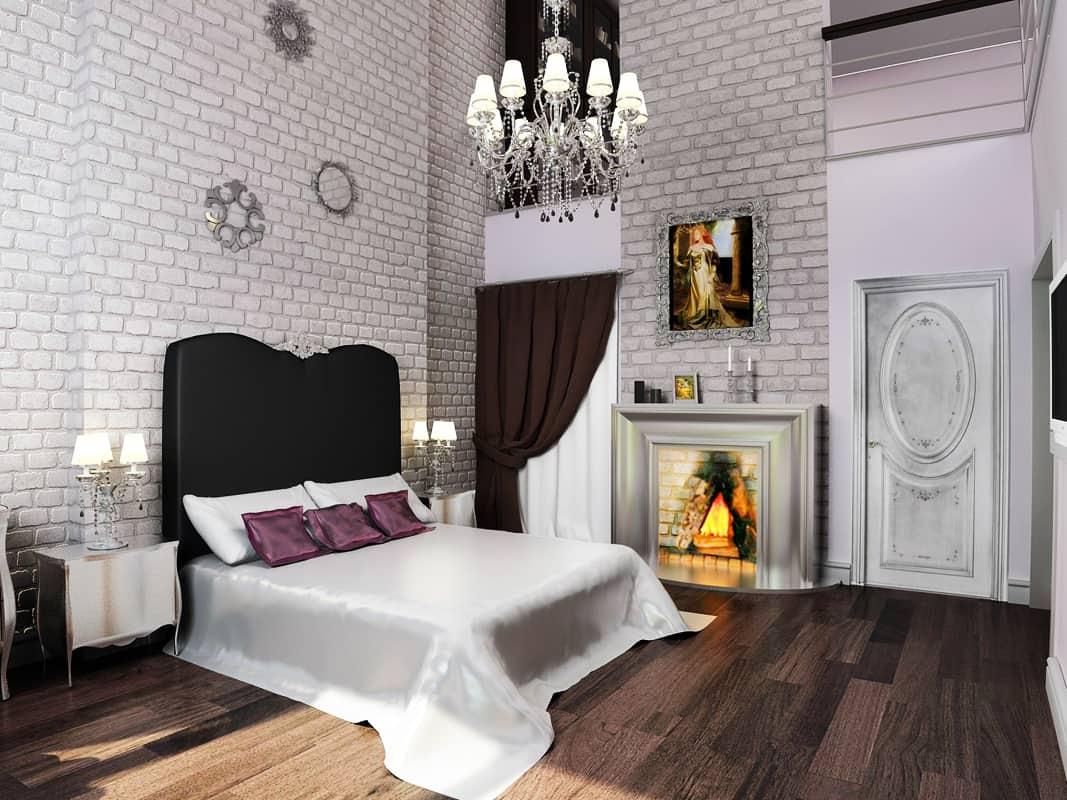 Bedroom decor ideas: Gothic bedroom