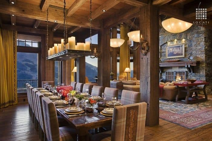 Dining Room Ideas: Rustic Dining Room