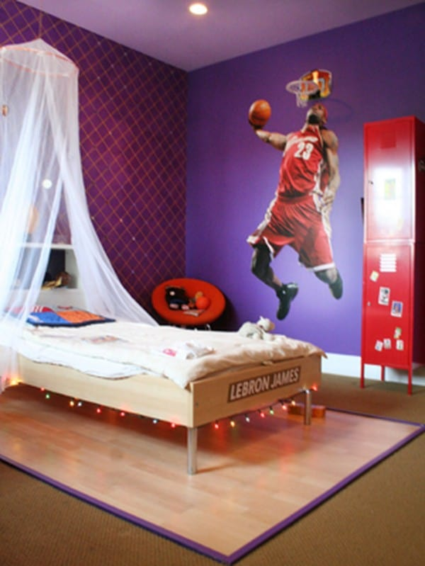 Home decor trends 2017: Purple teen room on Teenage Room Colors For Guy's  id=36981