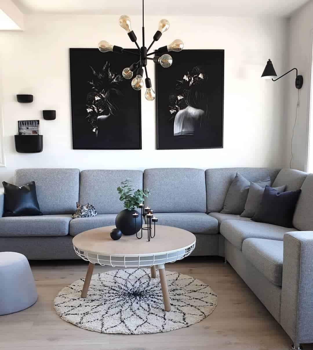 Top 4 Stylish Trends and Ideas For Living Room 2020 (40 ... on Trendy Room  id=73192