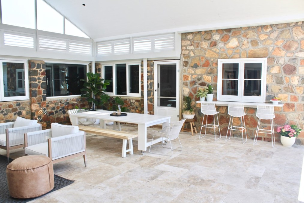 A blissful pool retreat for a 100 year old rural farmhouse for Landscape design jobs perth