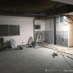 築40年超検済無しのビルのリノベーション〜ゲストハウスLittle Japan〜ビフォー・アフター<2階>