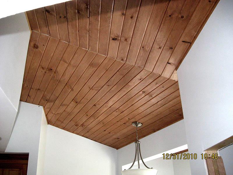 Trim Work Vaulted Ceilings