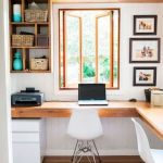 45 Adorable Home Office Decoration Ideas (26)