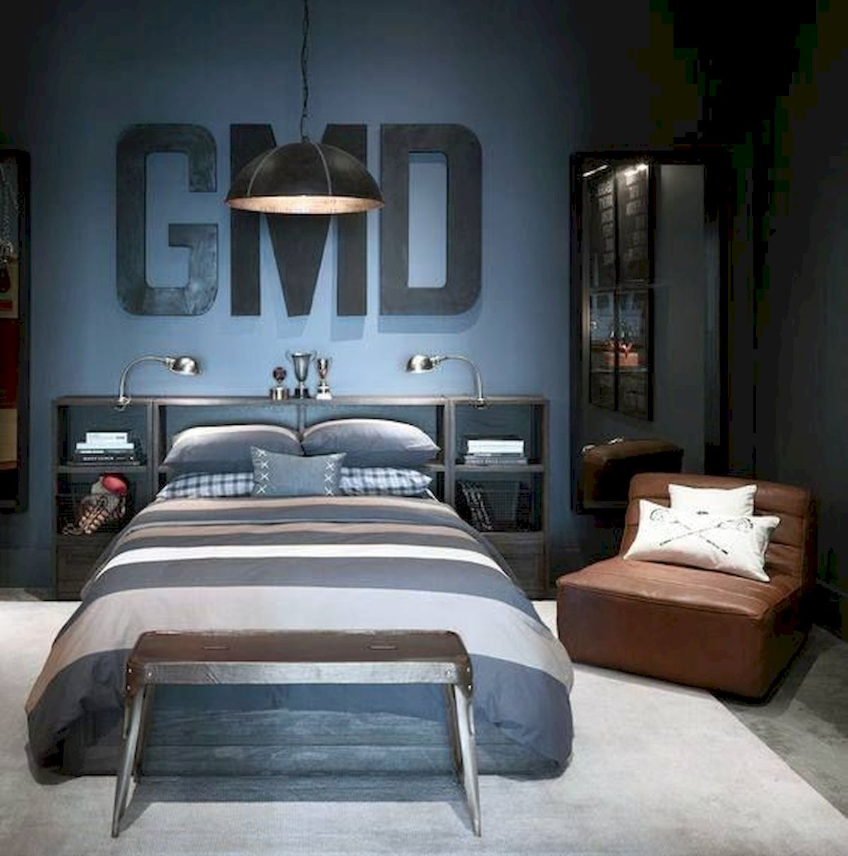 45 Cool Boys Bedroom Ideas to Try at Home (21) - house8055.com