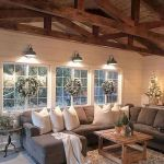 50 Cozy Farmhouse Living Room Design and Decor Ideas (10)