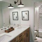 60 Stunning Farmhouse Bathroom Decor and Design Ideas (36)
