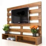 50 Awesome Pallet Furniture TV Stand Ideas for Your Room Home (35)