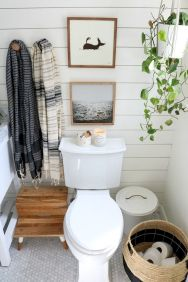 50 Awesome Wall Decoration Ideas for Bathroom (40)